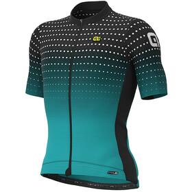 Alé Cycling PR-S Bullet Jersey Korte Mouwen Heren, black/aqua